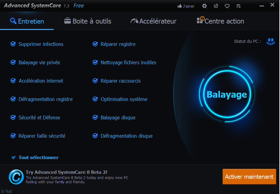 Advanced systemcare 7 free gam3 - Comment nettoyer mon ordinateur ...